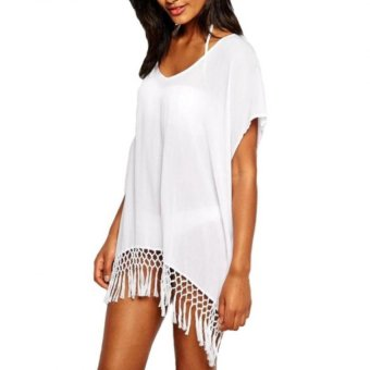 Sexy Women Bikini Swimwear Cover Up Beach Dress