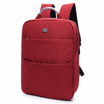 Si Rui casual travel business shoulder backpack computer shoulder bag (Gorgeous red)
