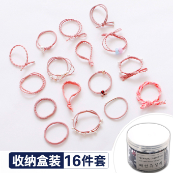 Simple Sets of rubber band adult hair band hairband (2065 # Pink Series) (2065 # Pink Series)