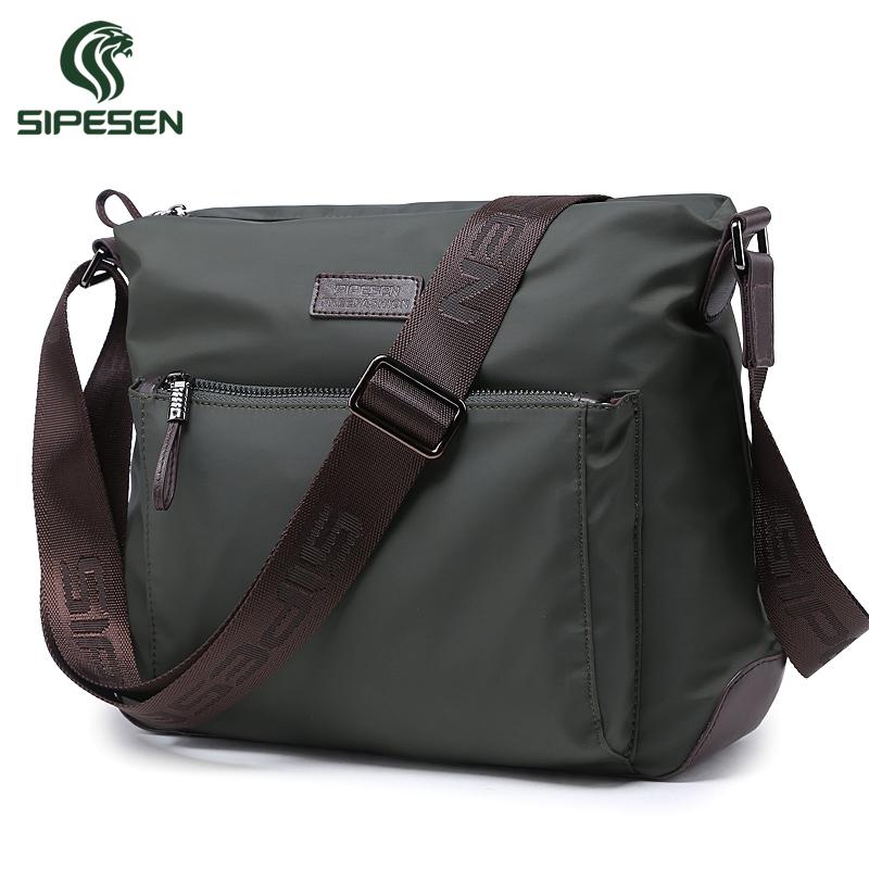 26fabfc393b Sipesen men s shoulder bag canvas bag sports casual man bag messenger bag  Oxford Cloth waterproof nylon