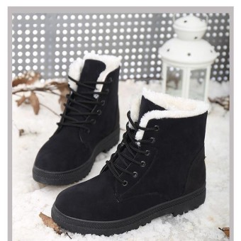 Snow Boots Martin Boots Korean Factory Outlets Waterproof Boots Ladies Shoes - 2