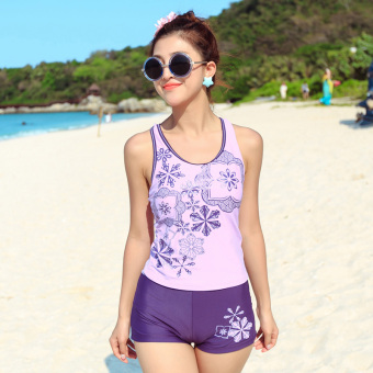 Harga Split boxer Ms. swimsuit (Purple)