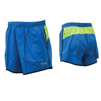 Harga TYR Phantom Men's Running Shorts (Royal)
