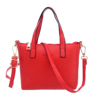 Women Messenger Bag Shoulder Bag(Red)