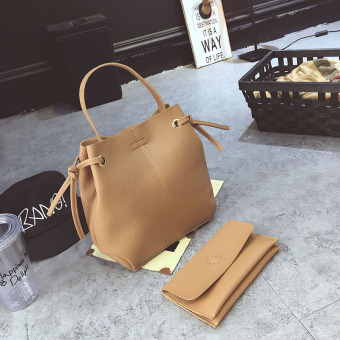 Women's Korean-style stylish casual bucket bag