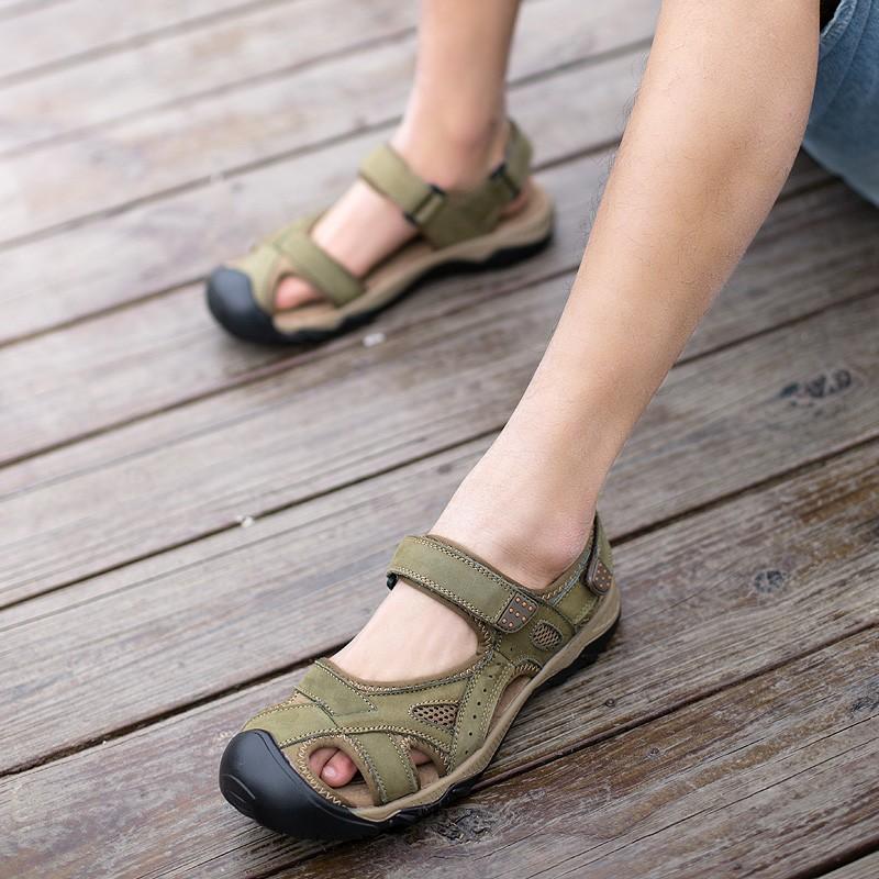 ... Pria Kulit Inggris (ZS1651 Coklat Gelap). Source · Bandingkan Toko Yozo Luar Ruangan Berjalan Kasual Pantai Sandal Sepatu Rendam Ukuran 38-48 Baru
