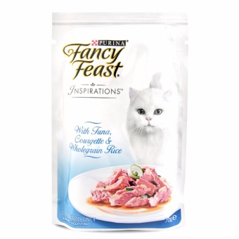 Harga 12 cans x 70g - FANCY FEAST Inspirations Tuna Cat Food