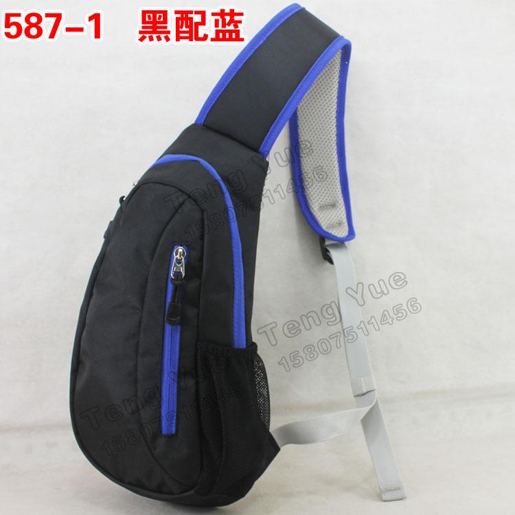 587 diagonal package chest pack large capacity shoulder waterproof casual
