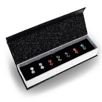 7 Days Moon Earrings Set - Crystals from Swarovski(R)
