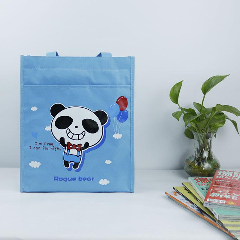 A4 cute men and women Portable Bag Art Bag