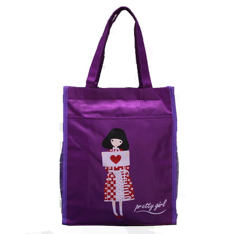 A4 men and women tutorial bag Portable Bag waterproof school bag