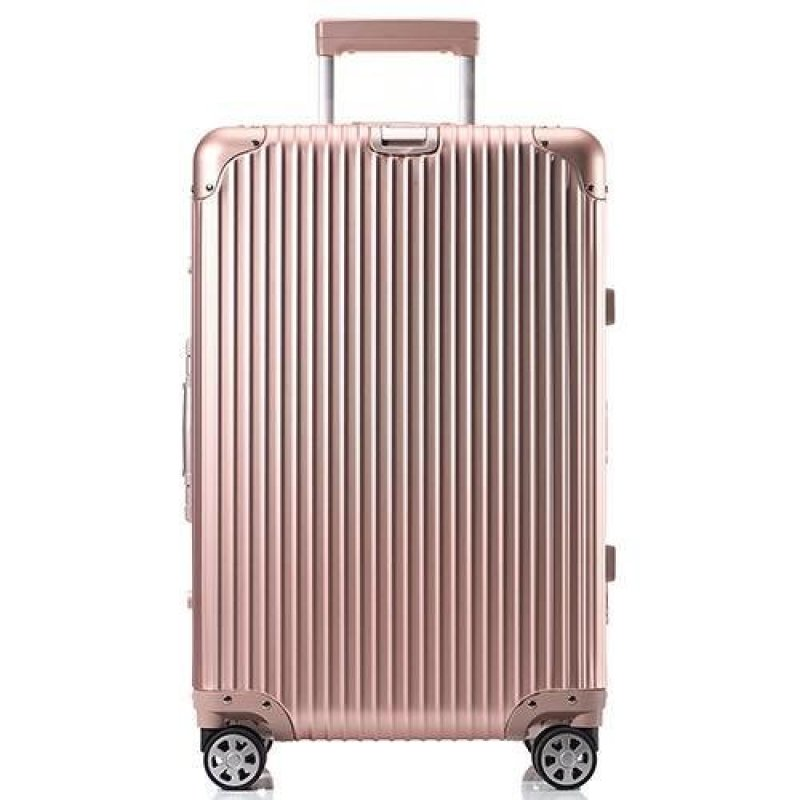 Aluminum magnesium alloy rod star rod box metal travel box male business high-end female chassis universal pull box pull(20 inch) - intl