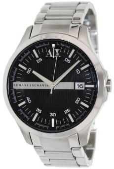 ARMANI EXCHANGE Men's Silver Stainless Steel Strap Watch AX2103