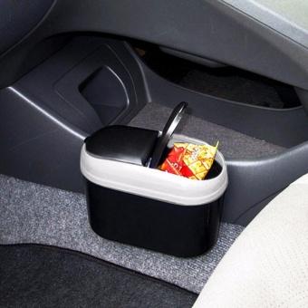 Auto Car Trash Rubbish Can Garbage Dust Dustbin Box Case Holder Bin Hook - intl - 4