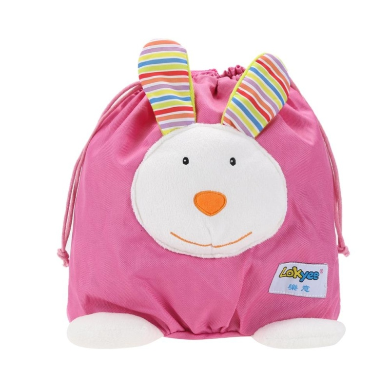 Baby Mini Cartoon Backpack Portable Schoolbag Toy (Pink) - intl