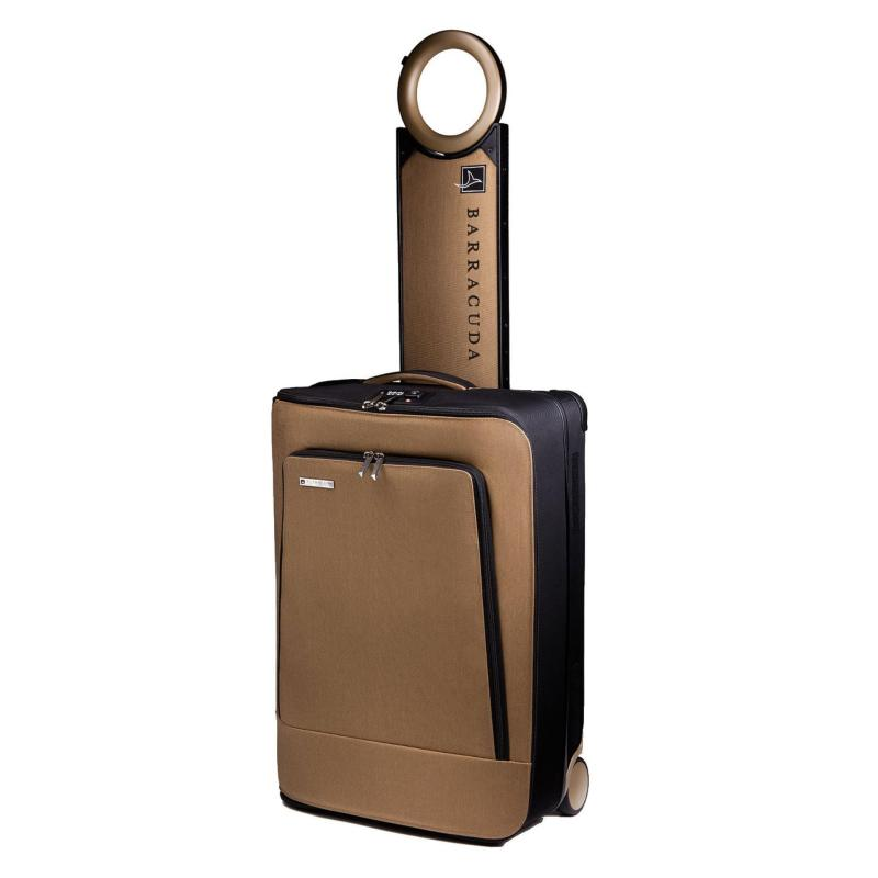 Barracuda Smart Collapsible Carry On Luggage - Pure Gold (Without GPS Locator)
