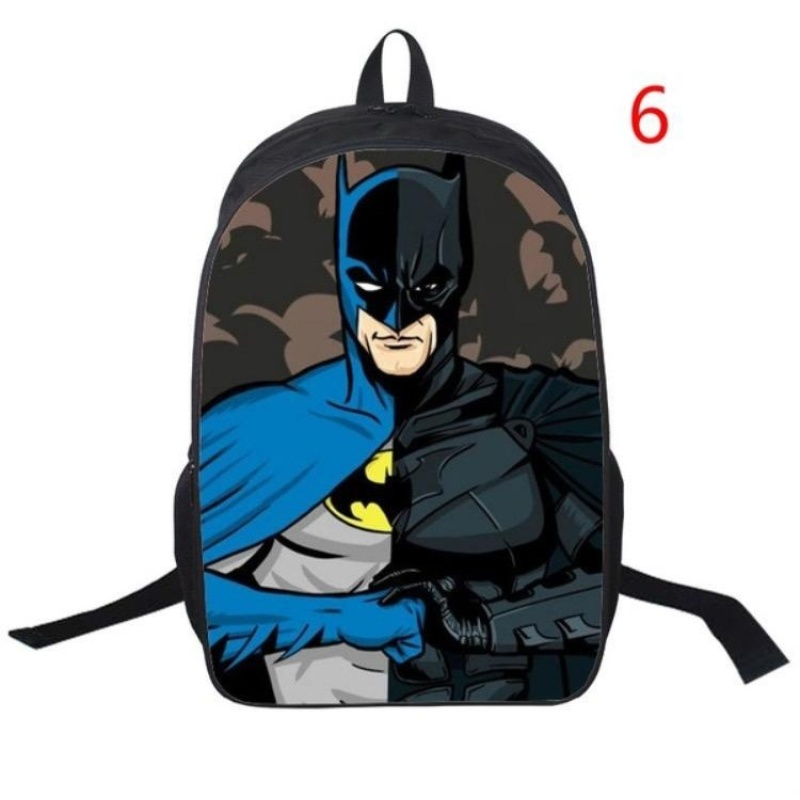 Batman Students Backpack Fashion Anime Cartoon Bag(6) - intl