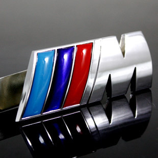 BMW m3/M5 metal stickers modified Car Decorative Sticker