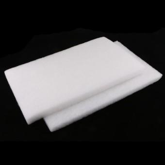 BolehDeals 2x Foam Sponge Pad Filter Media For Aquarium Fish Tank Filter 2# 50x30cm -