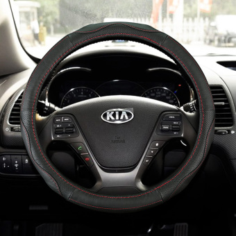 Car to cover applicable to New style Kia K3 new run K2 sportage K4Ferrer di K5 leather steering wheel cover