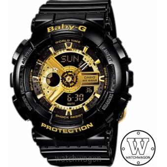 Casio Baby-G BA-110-1A (Black Gold)