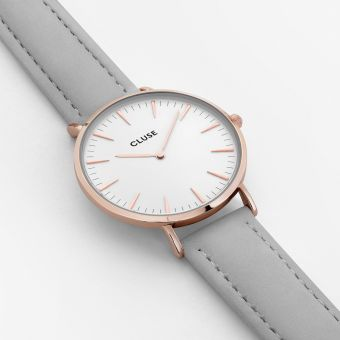 Cluse ROSE GOLD GREY Watch - intl - 2