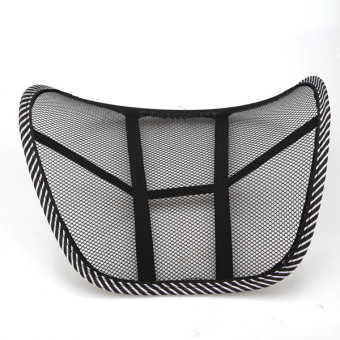Cool Vent Mesh Back Brace Lumbar Support Office Chair Home Sofa Car Seat  Cushion