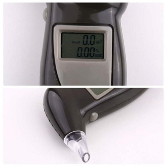 Digital Breath Alcohol Analyser Tester Breathalyser - intl - 4