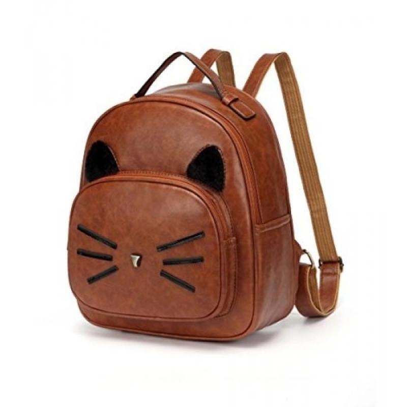 DIOMO Mini Women Backpacks Cute Cat Kids Girls Daypack Rucksack Bags - intl