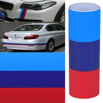 DIY For BMW Flag Auto Waist Line Hood Sicker Decal Vinyl CarStickers 1M - intl