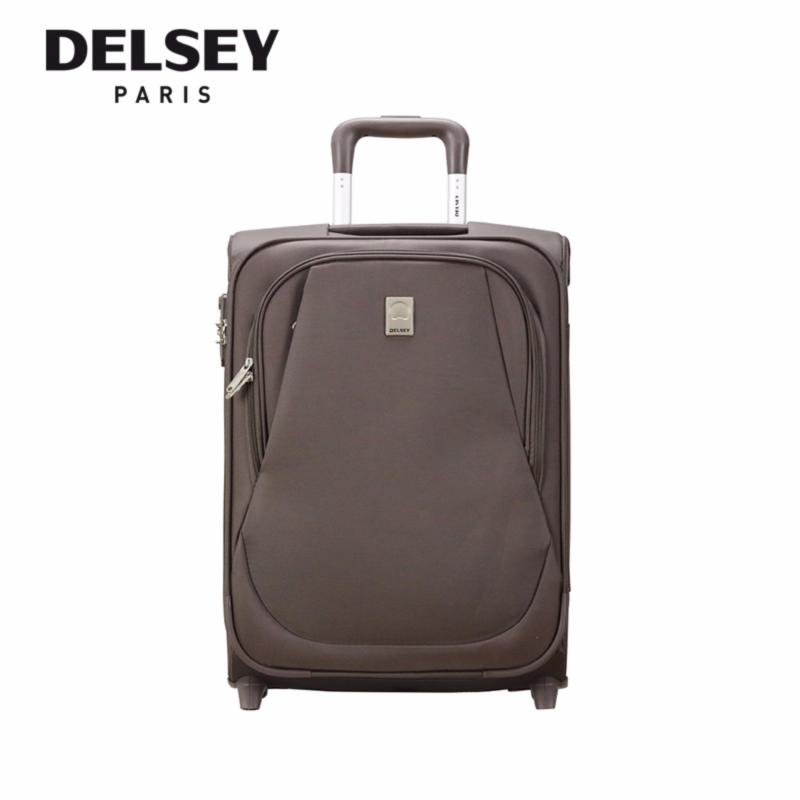 Eole 55cm 2 Wheel Cabin Trolley Soft Case (Chestnut)