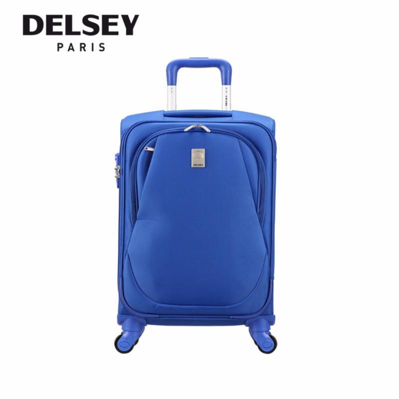 Eole 56cm 4 Wheel Trolley Soft Case (Light Blue) *New Arrival*