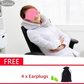 EsoGoal 3D Sleep Mask Lightweight and Comfortable Sleeping Eyes Shield Mask Shade Cover for Travel Nap