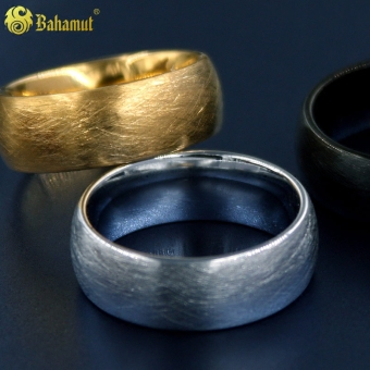 Harga European and American SG of wheel tungsten gold ring
