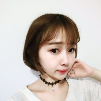 Every day special collar necklace black rope clavicle chain short paragraph neck strap girls simple lace personalized necklace neck