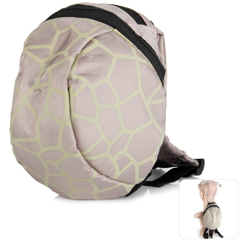Fashionable Pangolin Pattern Backpack Shoulders Bag Schoolbag with Safety Harnesses for Children