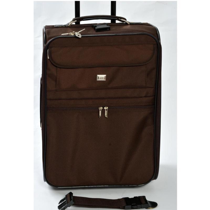 Gianfranco Ferre 20'' Trolley Luggage ( BROWN)