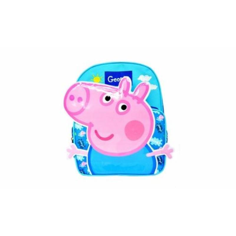 Groupon Peppa Pig Nylon Backpack 2 Units (Blue)