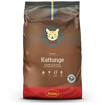 Husse Kattunge Dry Food For Cats Kitten 2kg
