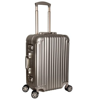 Hitrip full aluminum Luggage - 21-Inch Champagne Gold