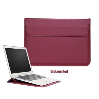 Bora 13.3'' Laptop Case Sleeve PU Leather Waterproof Case Withe Stand Function Protective Carrying Bag for MacBook Air/Pro Retian,Asus,Dell, Fujitsu, Lenovo, HP, Samsung, Sony, Toshiba - intl