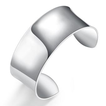 Harga Latest Trendy Classic Silver Plating Bangle(Export)(Intl)