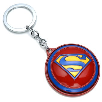 Harga Surrounding the movie wars superman batman chariot 3d superman batman keychain pendant jewelry