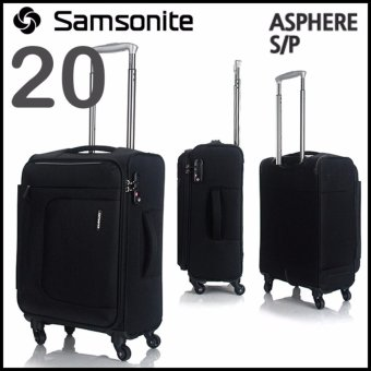 Harga Samsonite 72R09001 Asphere 20inc Cabin-Sized Luggage Bag - intl
