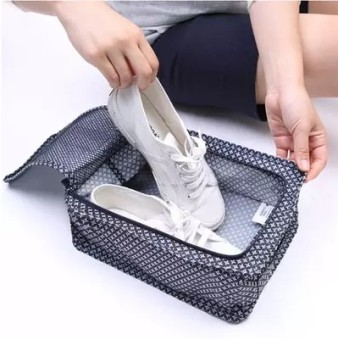 Harga Travel Pouch finishing packaging sports shoes storage bag shoe travel to be equipment waterproof shoe bag shoe box