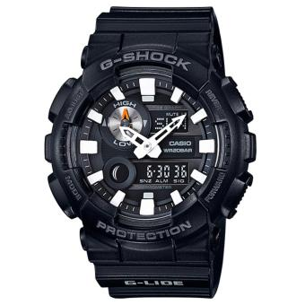 Casio G-Shock G-Lide new GAX-100 Series Black Resin Band Watch GAX100B-1A