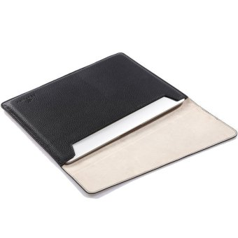 Harga GEARMAX Fashion Waterproof Laptop Sleeve for Macbook 12 Black (EXPORT) - Intl