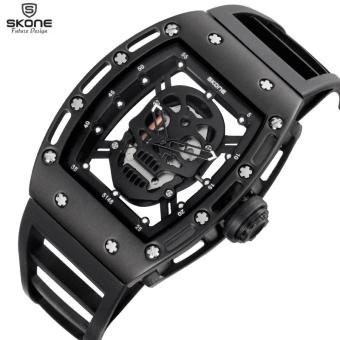 Harga SKONE Quartz Mens Watches Silicone Men Sports Watch (3987) - intl