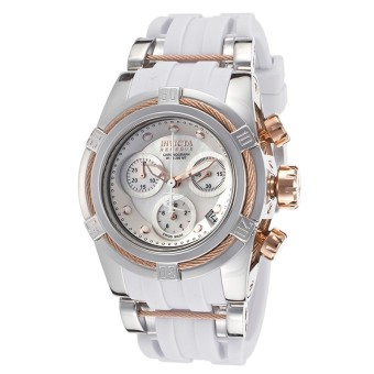 Harga Invicta Bolt Lady Swiss Quartz Chronograph 40mm Luxury Dress Watch 15280