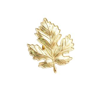 Harga Gold Leaf Lapel Pin